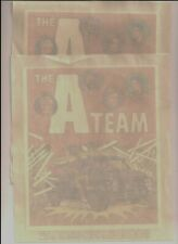 Two (2) vintage *The A-Team* Iron-on Transfers for T-Shirt or Coat