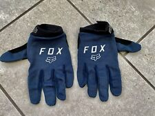 Fox Ranger Gel Gloves For MTB In Blue