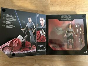 Hasbro STAR WARS The Black Series REY Jedi Training Figure ToysRs Exclusive New