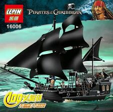 New 16006 Pirates of The Caribbean The Black Pearl Ship Blocks FREE SHIPPING