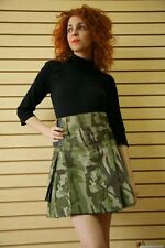 Women's Camo Kilt by Scottish Kilt | Made To Measure