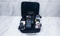 Logitech Fotoman Plus FM-2 Digital Camera + Tiffen Wide Angle Lens + Accessories