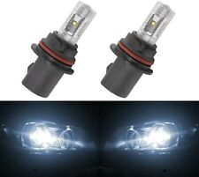 LED 30W 9004 HB1 White 5000K Two Bulbs Head Light Show Use DRL Off Road Fit