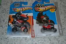 1:64 hot wheels LOT ducati duc 1098 1098r diavel motorcycles bikes