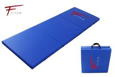 environ 2.44 m 8 ft Noir Pliable Tapis Yoga Gym Fitness Exercice Mousse épaisse Workout Tumble Pads