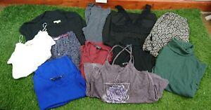 Women's Size 8 Mixed Clothes Bundle X11 Items High Street Brands LB4