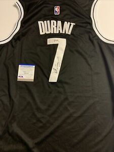 Kevin Durant Signed Jersey PSA/DNA COA Brooklyn Nets Adult L Large