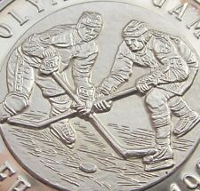 ICE HOCKEY 1994 OLYMPIC GAMES LILLEHAMMER SILVER MEDAL 20g 999 CANADA RUSSIA USA
