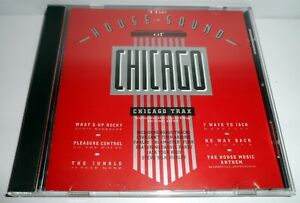 THE HOUSE SOUND OF CHICAGO - CHICAGO TRAX 1986 VARIOUS COMPILATION CD ALBUM