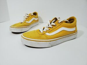 Vans Off the wall Skate Shoes Yellow Women's size 7