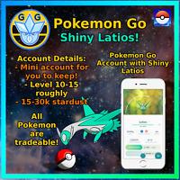 Pokemon Account Go Shiny Latios - Mini Acc!