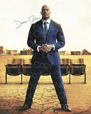 Dwayne The Rock Johnson signed Ballers autograph 8X10 photo picture poster RP 6