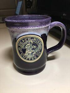 Death Wish Coffee 2016 Day Of The Dead Mug #2458/3500 Deneen Pottery