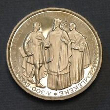 - 1935 Hungary 2 Pengo ARTEX SIlver Proof Restrike Pazmany - only 1000 Minted