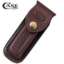 Case Trapper Brown Leather Sheath w/Case XX & The Trapper Stamped Logo CA980 USA