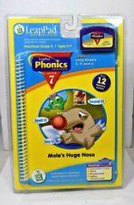"Leap Frog - Leap Pad Phonics Book & Cartridge ""Mole's Huge Nose"" Lesson 7 New"