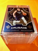 Luka Doncic PANINI CHRONICLES EMBOSSED CRUSADE HOT MAVS INVESTMENT CARD - Mint!
