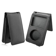 Leather Sleeve Pouch Case W/detachtable Belt Clip for iPod Classic 80/120/160GB