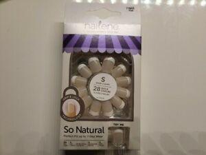 NAILENE - So Natural Ultra Flex Pink French Short Nails 71643