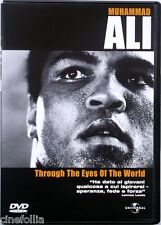 Dvd Muhammad Ali - Through the eyes of the World - documentario 2001 Usato
