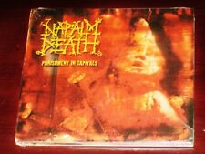 Napalm Death: Punishment In Capitals CD 2003 Feto / Snapper Music UK Digipak NEW