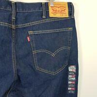 LEVI'S Mens Size 40 Straight Leg 516 Denim Jeans NEW