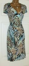 JOSEPH RIBKOFF Lovely Stretch toutes Occasion Robe Portefeuille Taille UK 14