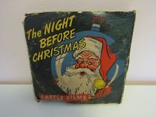 Vintage The Night Before Christmas Castle Films 16mm Movie