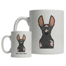 Peruvian Inca Orchid Cartoon Mug - Personalized Text Coffee Cup Hairless Dog