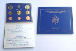 Vatican 2007 - Set of 8 Euro Coins (BU) ..  'VERY RARE'
