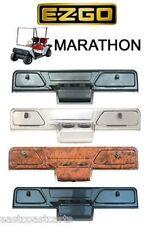 EZGO Marathon Golf Cart Dash Cover Carbon Fiber, WoodGrain, Titanium, Black