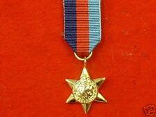 Quality World War 2 1939-45 Star Miniature War Medals