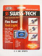 SWISS+TECH Lightweight Flex Band Tool Light LED Flashlight ST33370 Aussie Ship