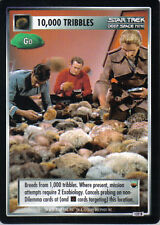 STAR TREK CCG TROUBLE WITH TRIBBLES RARE CARD 10,000 TRIBBLES (GO)