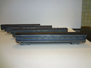 HO Passenger Train NYC Walthers Vintage 1960' car streamliner New York Central