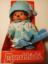 Monchhichi Toy Doll 20cm (Blue) New
