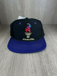 VTG 1996 ATLANTA OLYMPICS LOGO 7, INC. EMBROIDERED LOGO SNAPBACK BALL CAP/ HAT