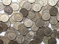 Hungary Ungarn - 50 Stück Münzen - 5 Forint 1983-1989 Lajos Kossuth Konvolut LOT