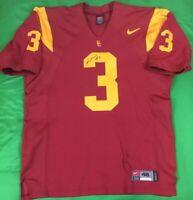 Authentic Nike USC Trojans Carson Palmer NCAA Jersey SZ 48 Pro Cut Signed NWOT'S