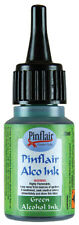 PINFLAIR ALCOHOL INK GREEN 25ML BOTTLE