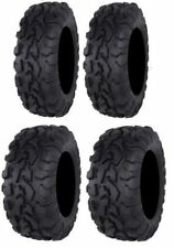 Full Set of ITP BajaCross (8PLY) Radial 25x8R-12 & 25x10R-12 ATV TIRES (Qty. 4)