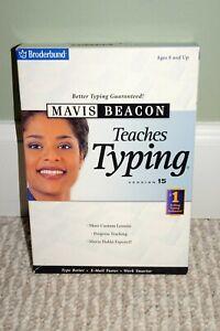 NIB Mavis Beacon Teaches Typing Version 15 (PC)