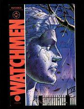 Watchmen #2 VF- Alan Moore Dave Gibbons Rorschach Silk Spectre