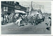 1989 Barbour County High School Band in Parade Hurtsboro Alabama Press Photo