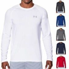 Camisetas de hombre de manga larga Under armour de poliéster