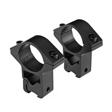 1 Pair High Profile for Rifle Scope Ring 25.4mm 1''&11mm Dovetail Rail Mounts