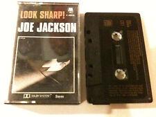 JOE JACKSON 'Look Sharp' 1979 Cassette Album