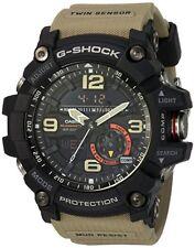 Casio G-SHOCK GG1000-1A5 Mudmaster Twin Sensor Compass Beige 200m Men's Watch