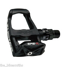 Exustar E-PR100PP Composite Clipless Road Pedals w/Look Keo Style Cleats Black