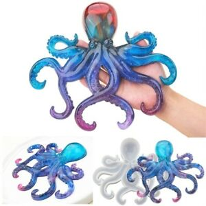 DIY Craft Making Tools Epoxy Resin Home Decoration Octopus Shape Silicone Mold